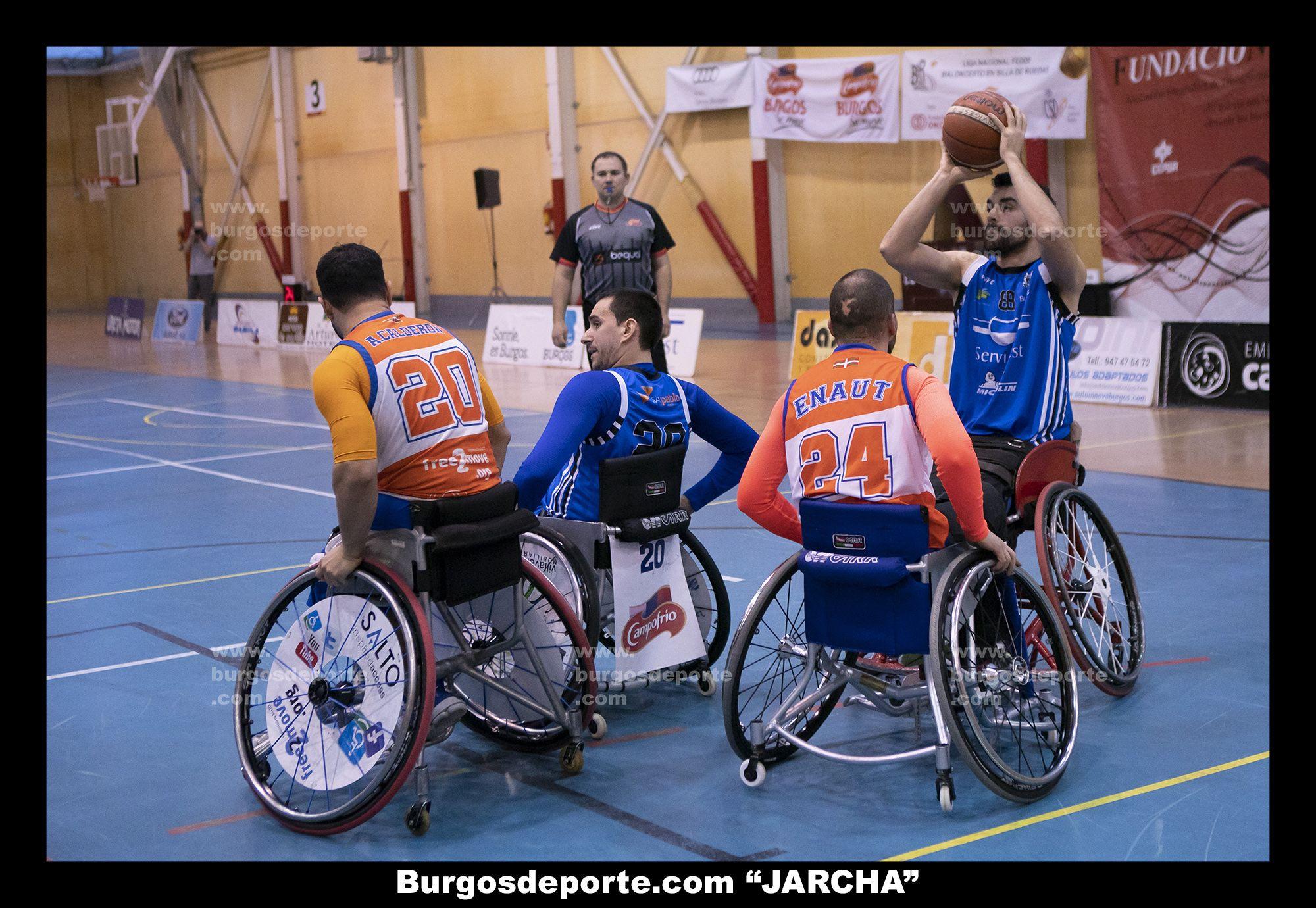 SERVIGEST BURGOS 65 - SALTO BERA BERA 43