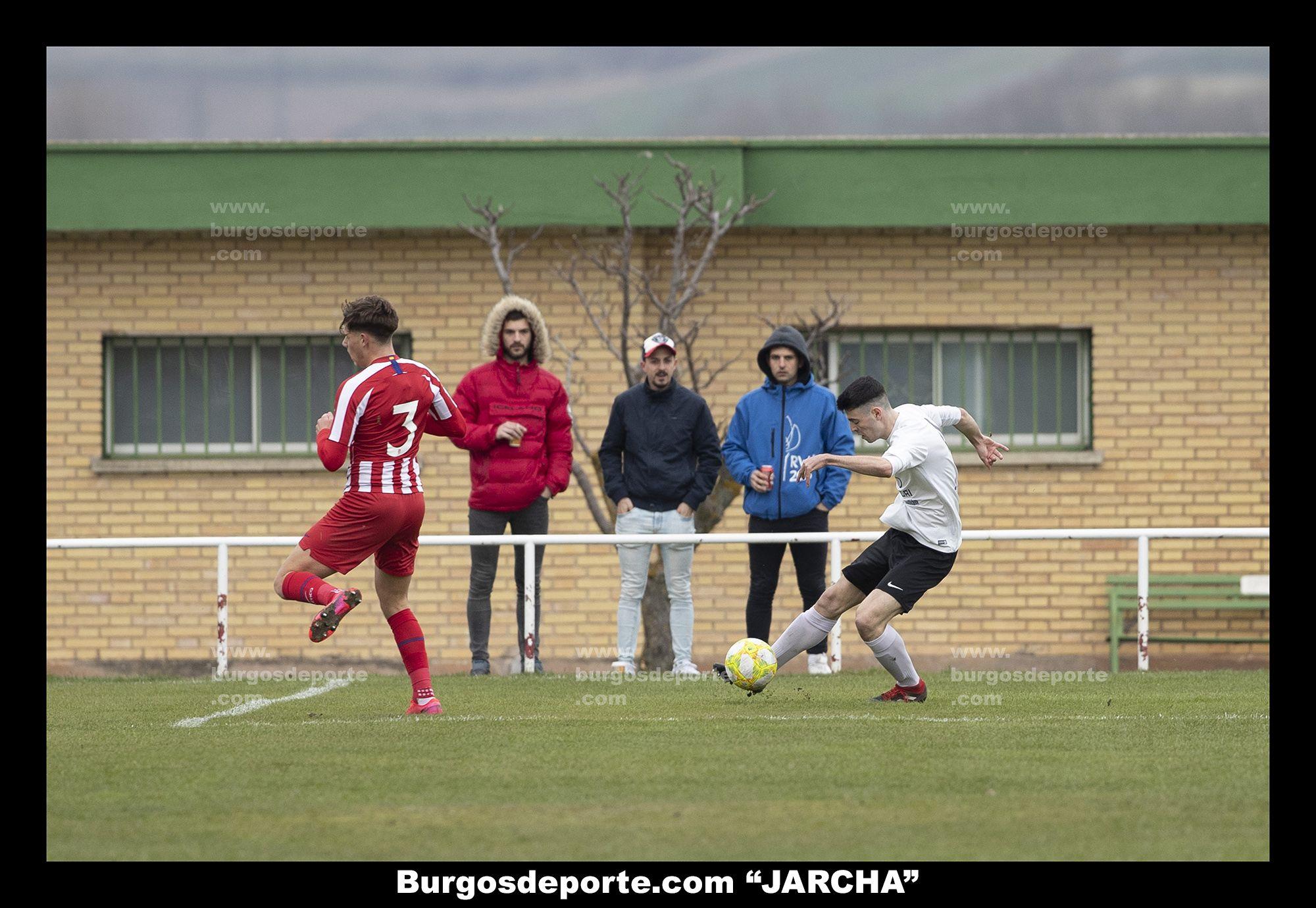BURGOS CF JUVENIL A 2 - ATLETICO ACADEMIA 1