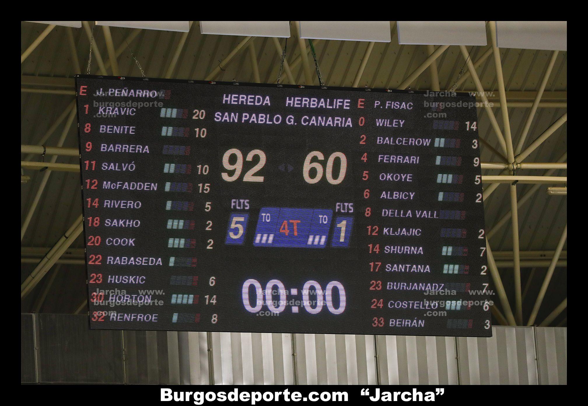 HEREDA SAN PABLO BURGOS 92 - HERBALIFE GC 60