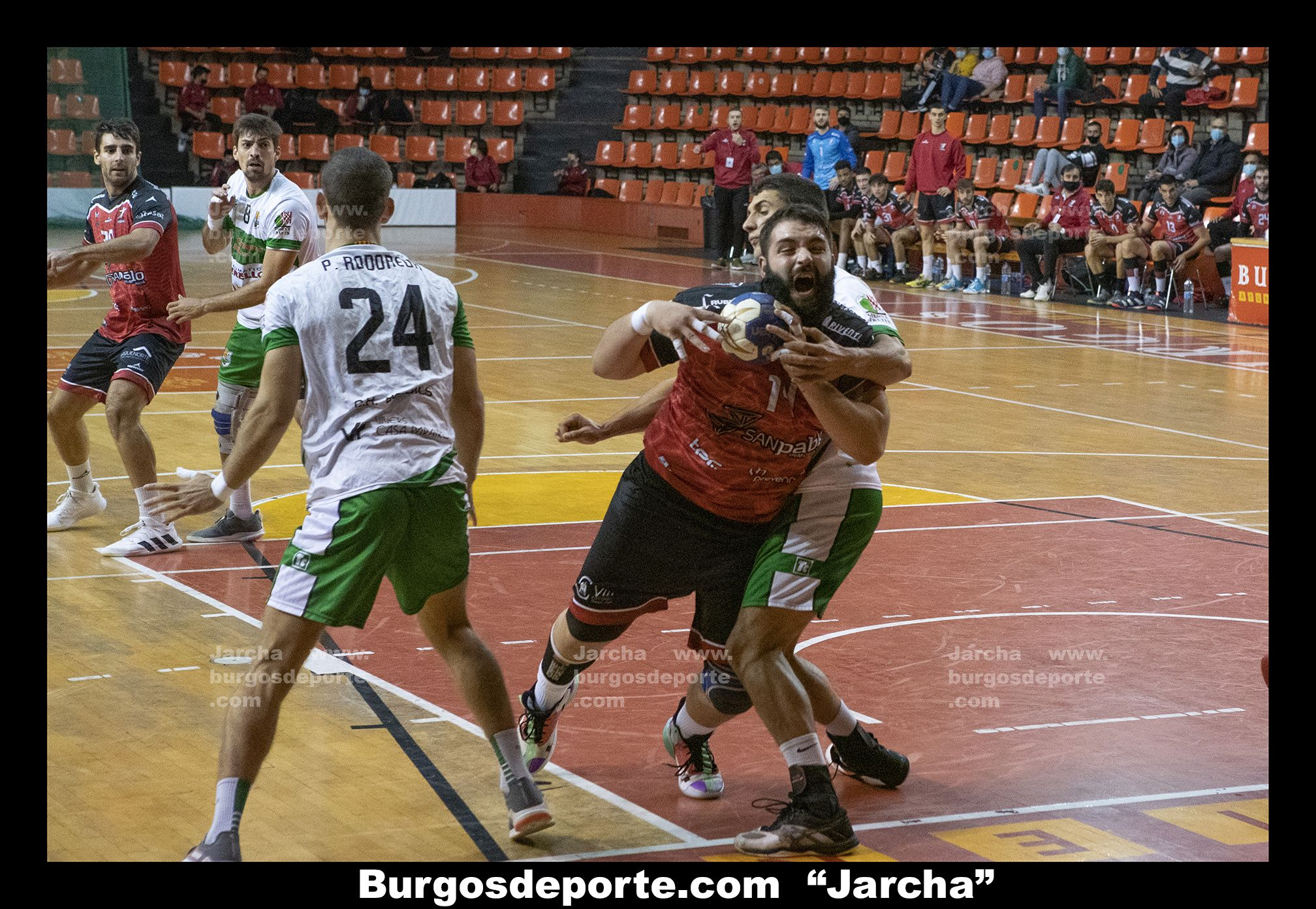 BALONMANO BURGOS 31 - HC BORDILS 26
