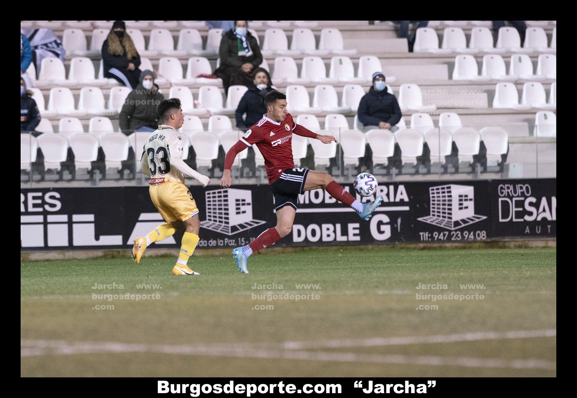 BURGOS CF 0 - RCD ESPAÑOL 2