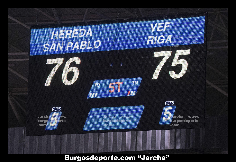 H. SAN PABLO BURGOS 76 - VEF RIGA 75